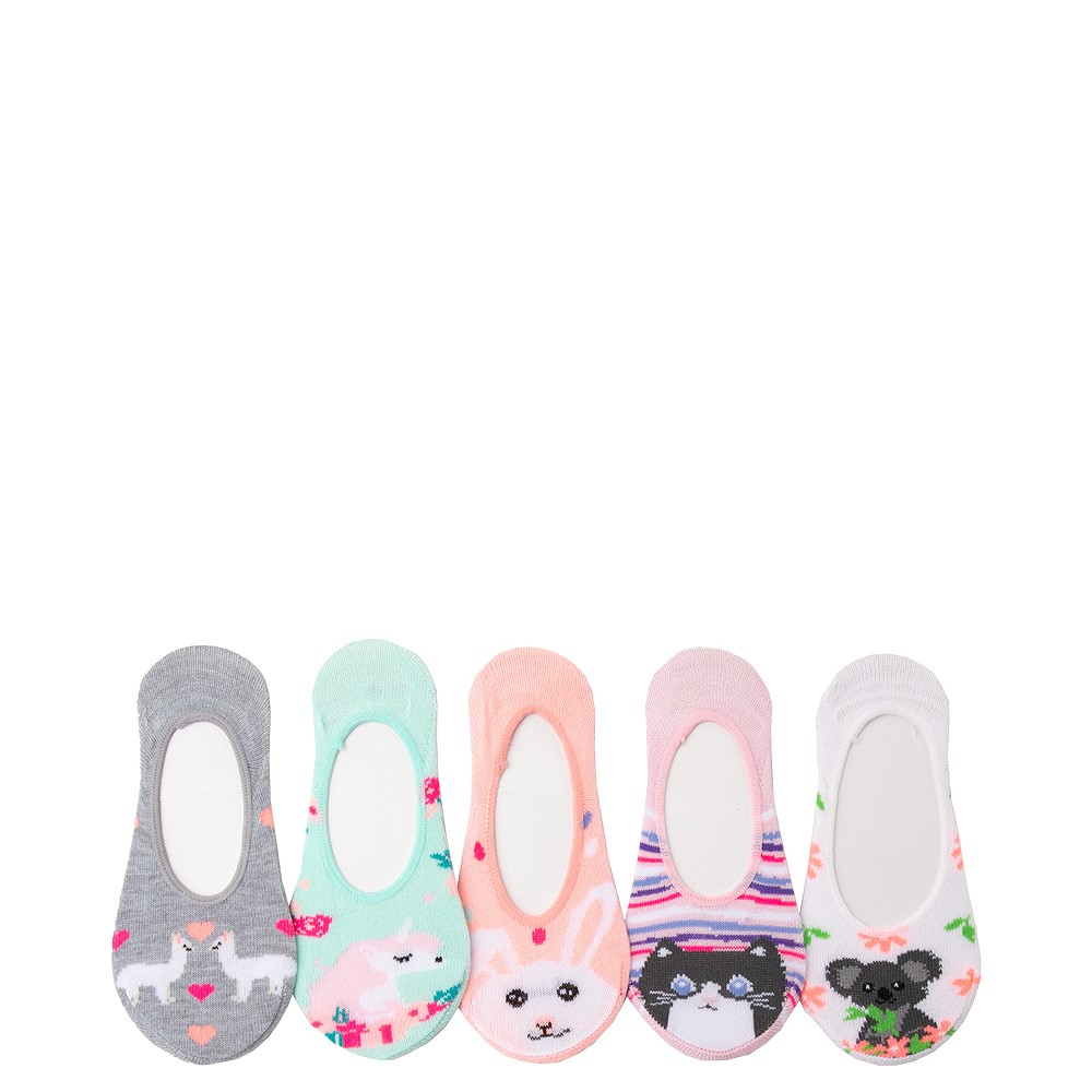 Cutie Critter Liners 5 Pack - Toddler - Multicolor