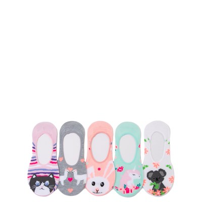Main view of Cutie Critter Liners 5 Pack - Girls Little Kid - Multi