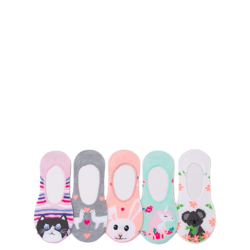 Cutie Critter Liners 5 Pack - Little Kid - Multicolor