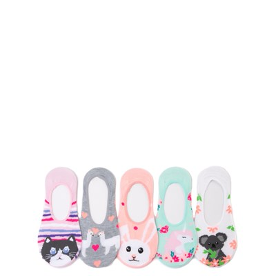 Main view of Cutie Critter Liners 5 Pack - Girls Big Kid - Multi