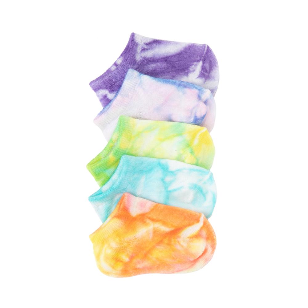 Tie Dye Footies 5 Pack - Baby - Multi