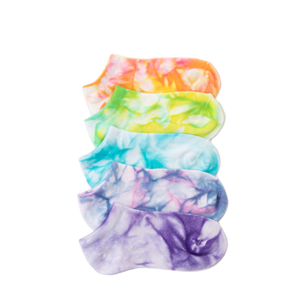 Tie Dye Footies 5 Pack - Little Kid - Multicolor