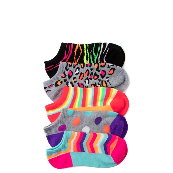 Animal Glow Footies 5 Pack - Little Kid - Multicolor