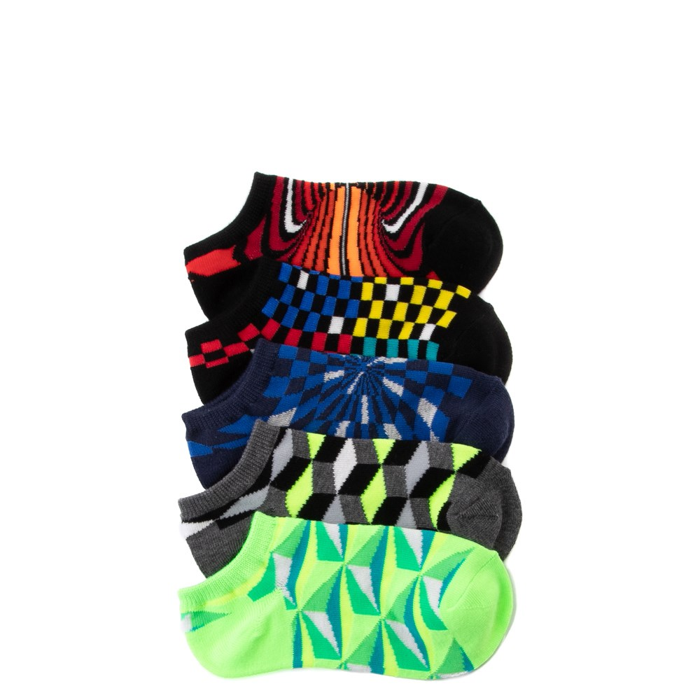 3D Glow Footies 5 Pack - Little Kid - Multi