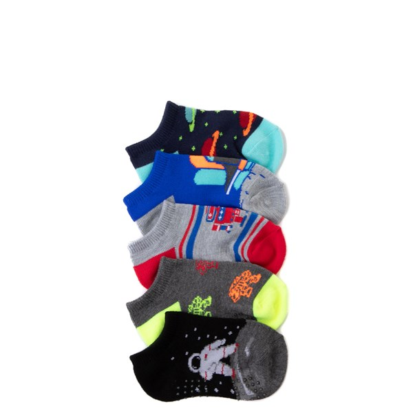 Main view of Spacebot Gripper Socks 5 Pack - Toddler - Multi