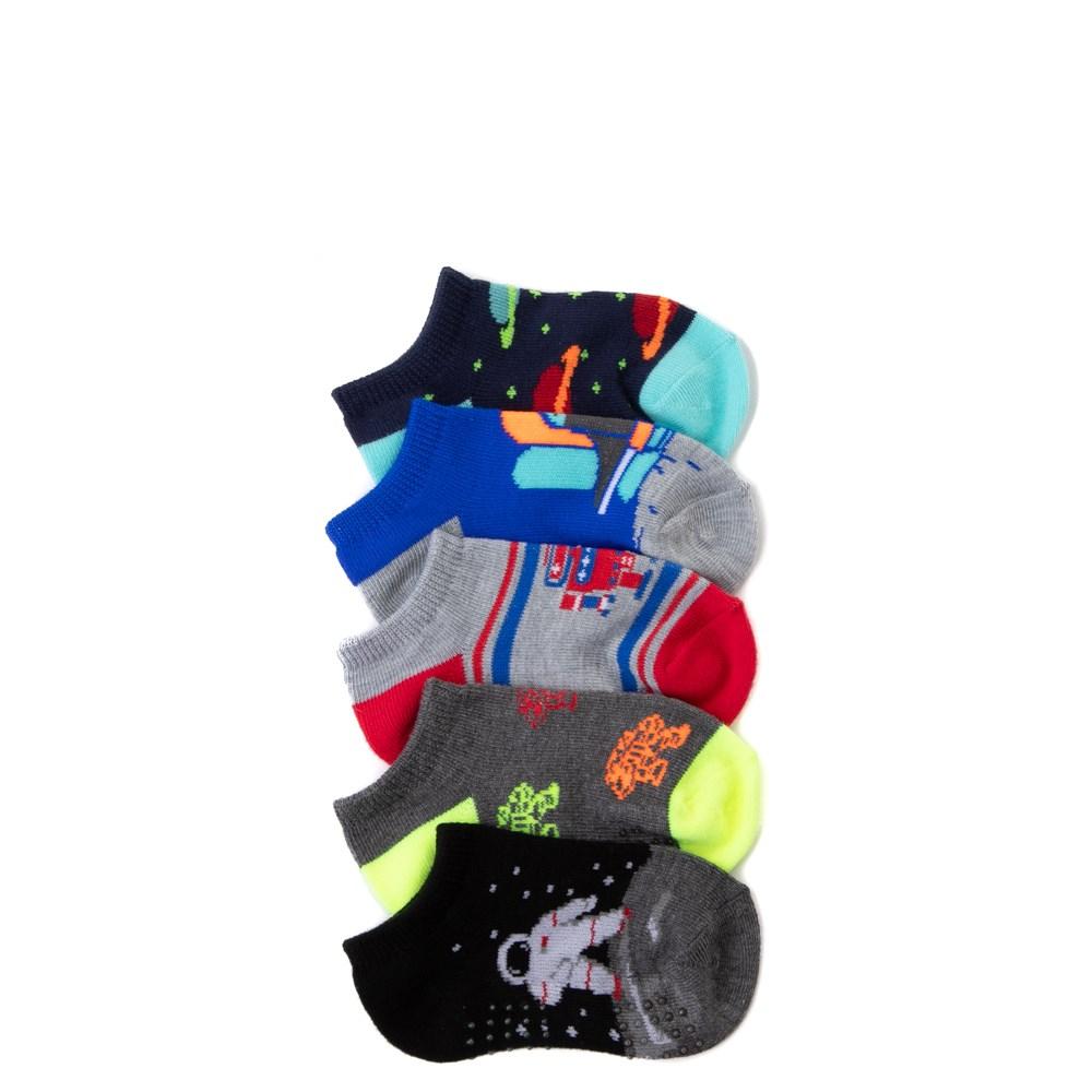 Spacebot Gripper Socks 5 Pack - Toddler - Multi