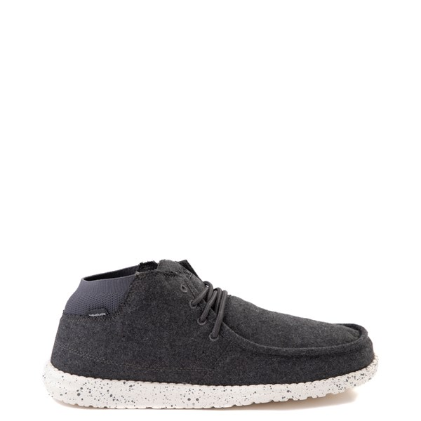 Mens Hey Dude Wayne Chukka Boot - Charcoal