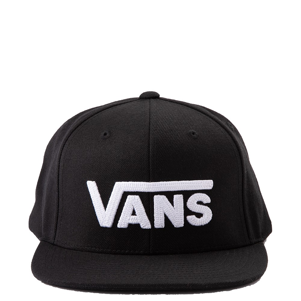 Vans Drop V Snapback Cap - Black