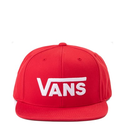 Main view of Vans Drop V Snapback Cap - Racing Red
