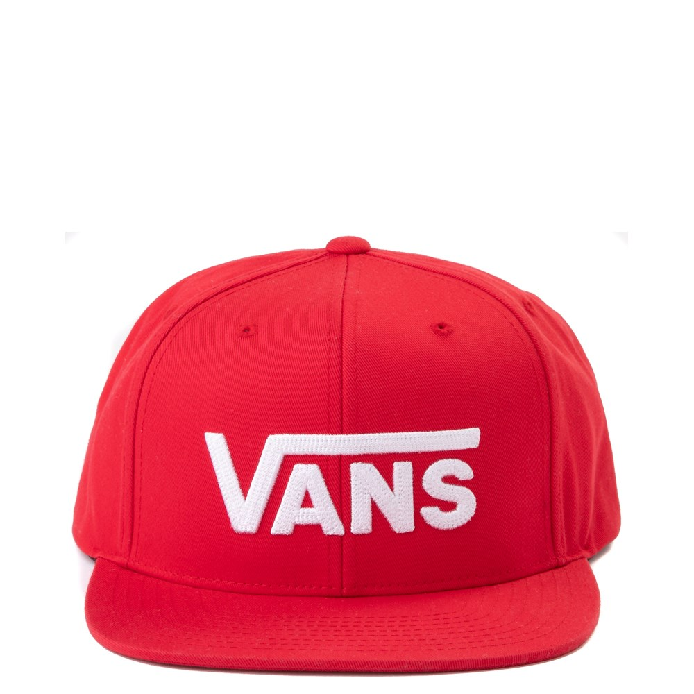 Vans Drop V Snapback Cap - Racing Red