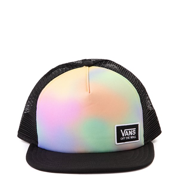 Main view of Vans Beach Bound 2 Trucker Hat - Black / Aura Wash