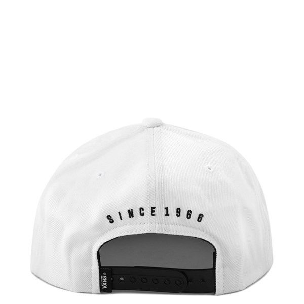 alternate view Vans New Stax Snapback Hat - WhiteALT1