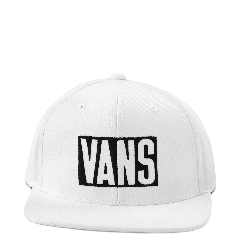 Vans New Stax Snapback Hat - White