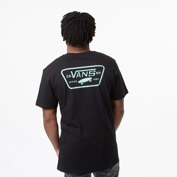 Mens Vans Full Patch Tee - Black