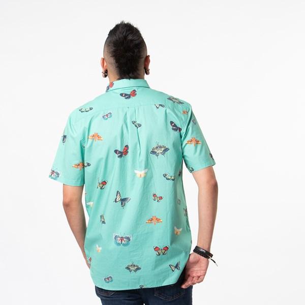 alternate view Mens Vans Metamorphosis Button Up Shirt - Dust JadeALT1