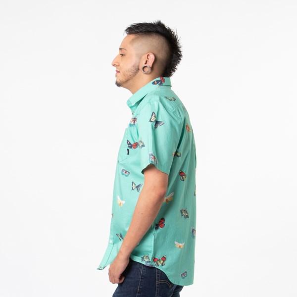 alternate view Mens Vans Metamorphosis Button Up Shirt - Dust JadeALT2