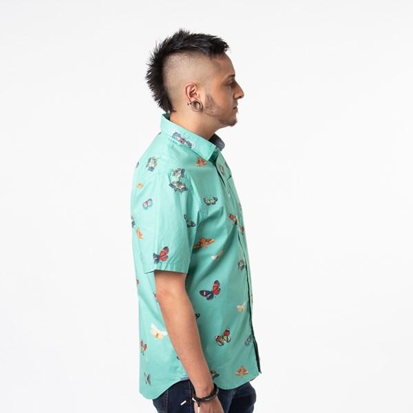 alternate view Mens Vans Metamorphosis Button Up Shirt - Dust JadeALT3