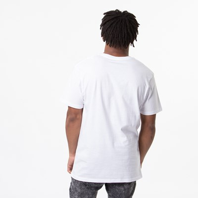 Alternate view of Mens Vans OG Checkered Tee - White