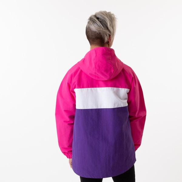 alternate view Mens Vans Retro Sport Anorak Jacket - Fuchsia Purple / HeliotropeALT2