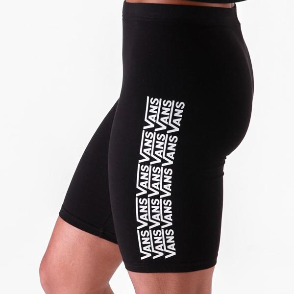 alternate view Womens Vans Fair Well Bike Shorts - BlackALT1