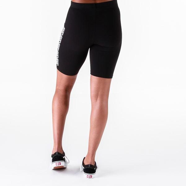 alternate view Womens Vans Fair Well Bike Shorts - BlackALT2