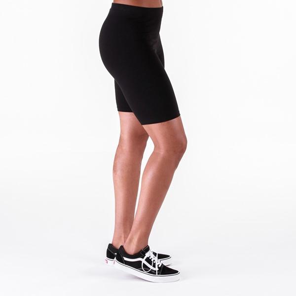 alternate view Womens Vans Fair Well Bike Shorts - BlackALT3