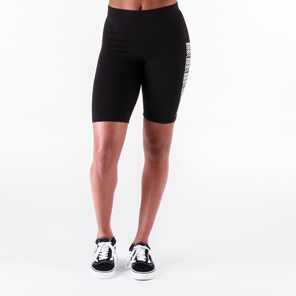 alternate view Womens Vans Fair Well Bike Shorts - BlackALT4
