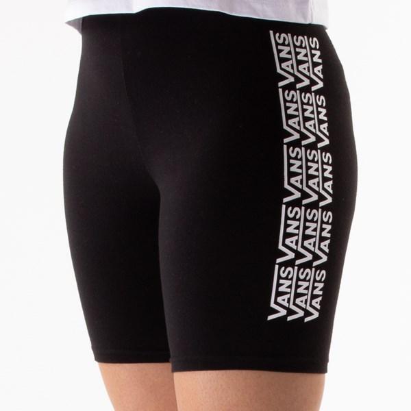 alternate view Womens Vans Fair Well Bike Shorts - BlackALT5