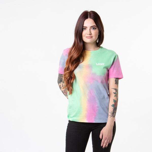 Main view of Vans Aura Wash Boyfriend Tee - Multi