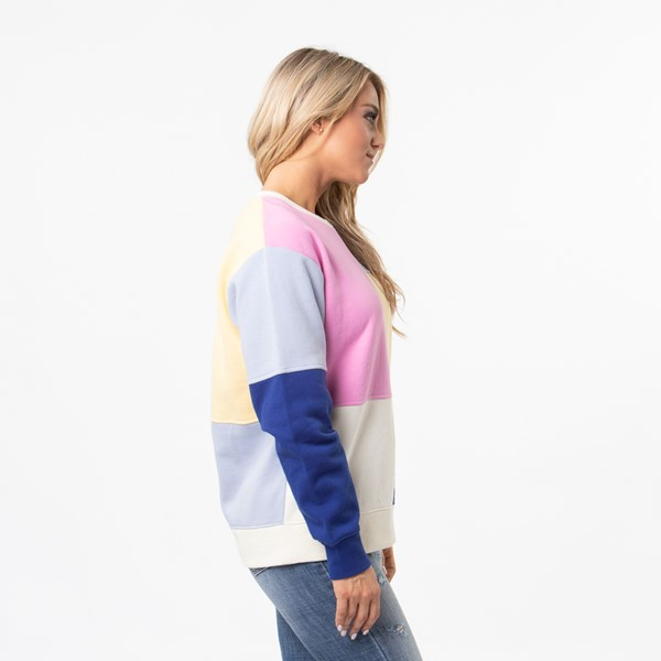 alternate view Womens Vans Patchy Crew Sweatshirt - MultiALT3