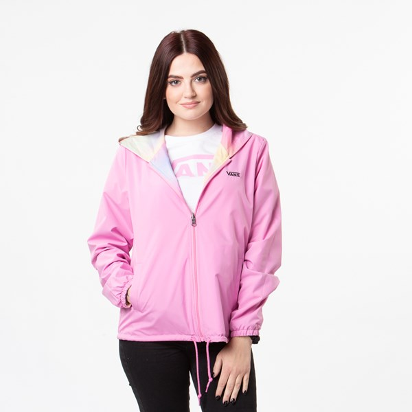 alternate view Womens Vans Reverse Out Reversible Coaches Jacket - MultiALT1