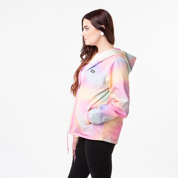 alternate view Womens Vans Reverse Out Reversible Coaches Jacket - MultiALT2