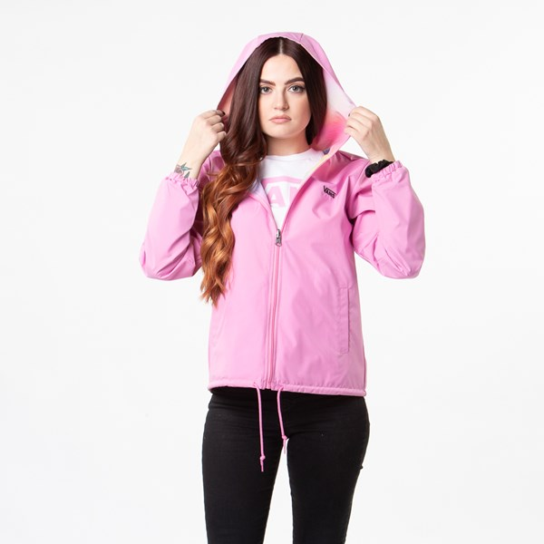 alternate view Womens Vans Reverse Out Reversible Coaches Jacket - MultiALT3