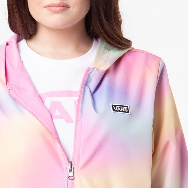 alternate view Womens Vans Reverse Out Reversible Coaches Jacket - MultiALT6