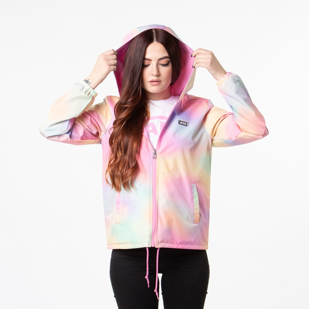 Womens Vans Reverse Out Reversible Coaches Jacket - Multi