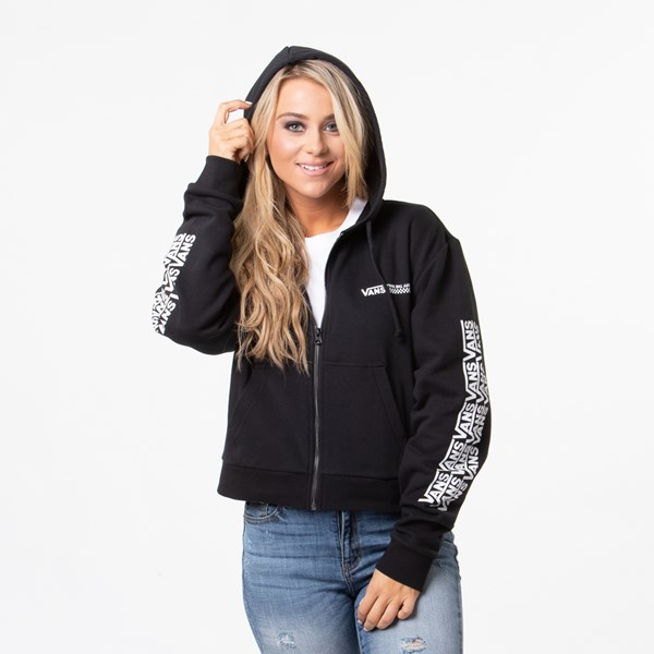 Womens Vans Fair Well Hoodie - Black
