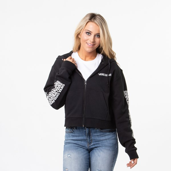 alternate view Womens Vans Fair Well Hoodie - BlackALT2