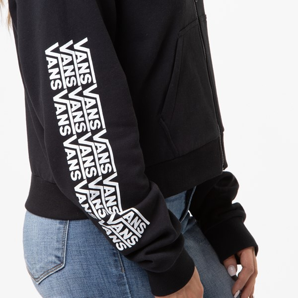 alternate view Womens Vans Fair Well Hoodie - BlackALT4