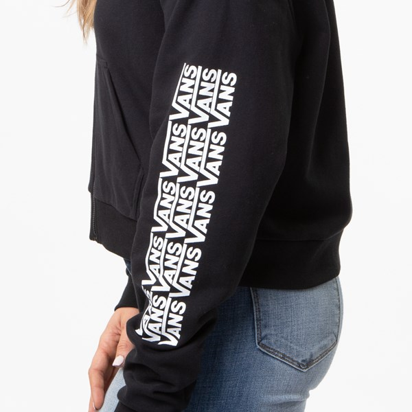 alternate view Womens Vans Fair Well Hoodie - BlackALT5