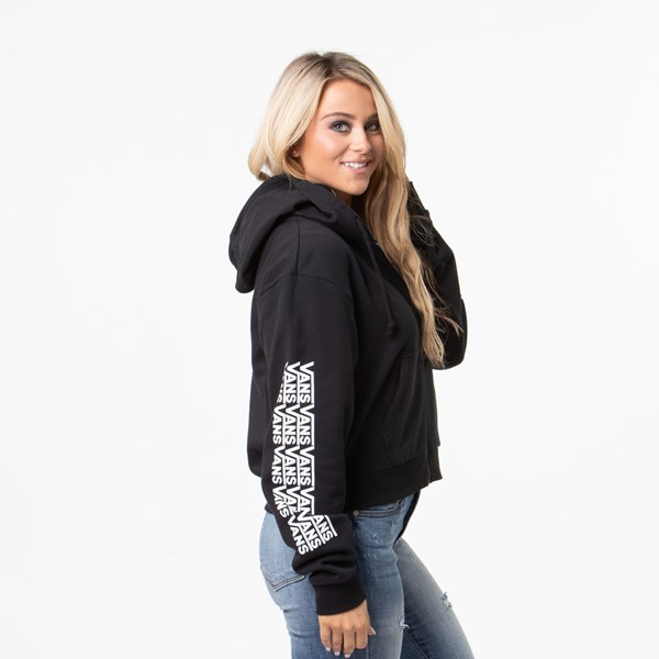 alternate view Womens Vans Fair Well Hoodie - BlackALT7