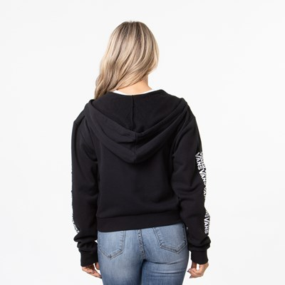 Alternate view of Womens Vans Fair Well Hoodie - Black