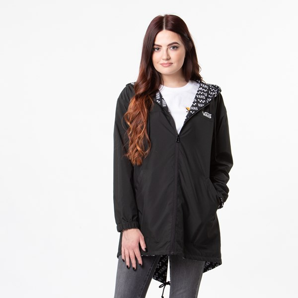 alternate view Womens Vans Mercy Reversible Jacket - BlackALT1