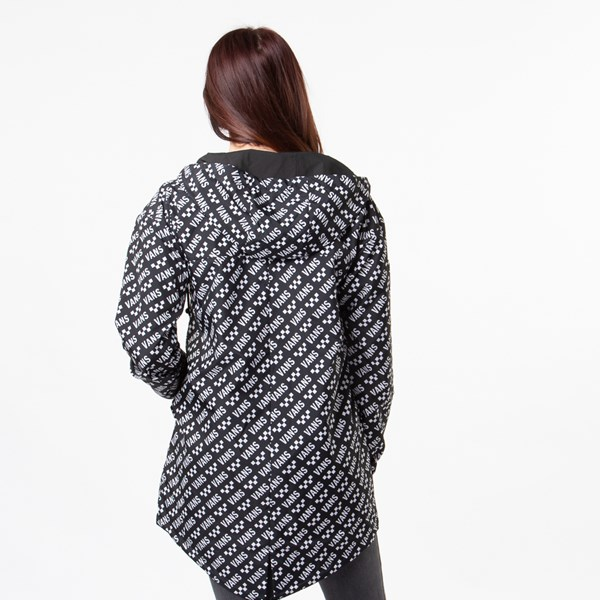 alternate view Womens Vans Mercy Reversible Jacket - BlackALT4
