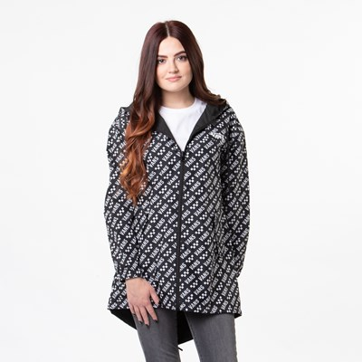 Main view of Womens Vans Mercy Reversible Jacket - Black