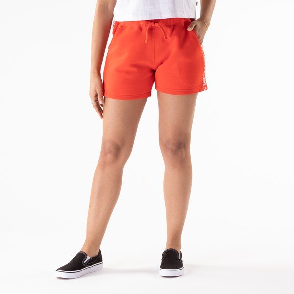 alternate view Womens Vans Brand Striper Shorts - GrenadineALT3