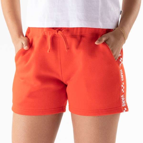 alternate view Womens Vans Brand Striper Shorts - GrenadineALT5