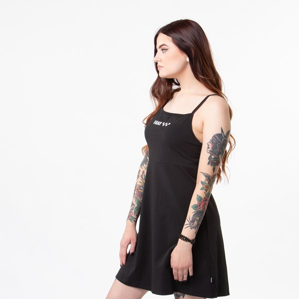alternate view Womens Vans Meadowlark Skater Dress - BlackALT2
