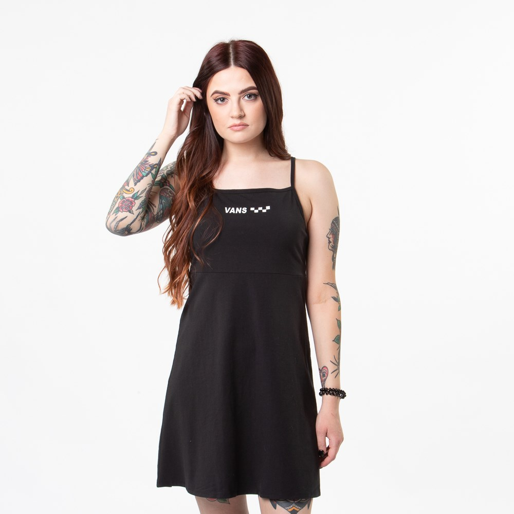 Womens Vans Meadowlark Skater Dress - Black