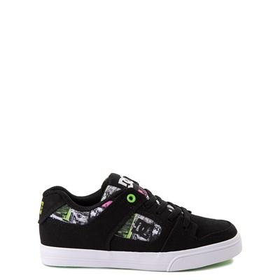 Main view of DC Pure Elastic TX SE Skate Shoe - Little Kid / Big Kid - Black / Multi