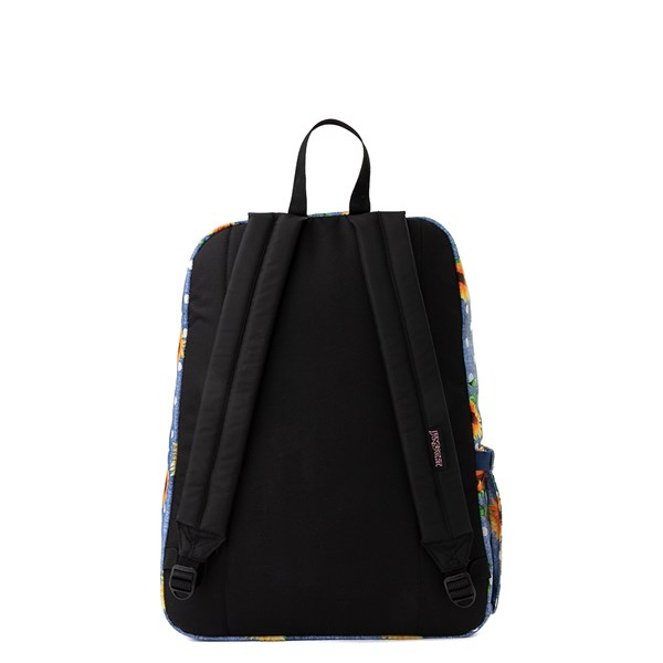 alternate view JanSport Superbreak Sunflower Backpack - BlueALT1B